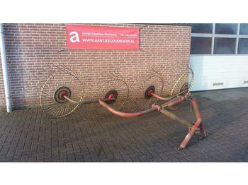New Acrobaat hark, 4 borden - kaarutaja/ reha