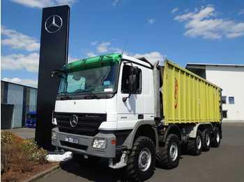 Põllutööseade Mercedes-Benz Actros 4141 K 10x6 Agro-Truck Fliegl Abschiebew