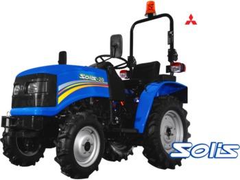 Solis RX20 4wd Open beugel  - mini traktor