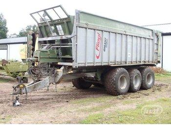 Fliegl Gigant ASW 270 3-axlar Lantbrukssläp med avskjutar-funktion - põllutöö järelhaagis