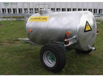 Põllutöö järelhaagis Inofama Wassertank 2000l / Tractor tanker trailer/Бак для воды 2000 л/Tanque de líquidos para tractor/Przyczepa zbiornik na wodę