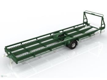 Põllutöö järelhaagis Krolik Obstgartenwagen WS 5SR/ Orchard trailer