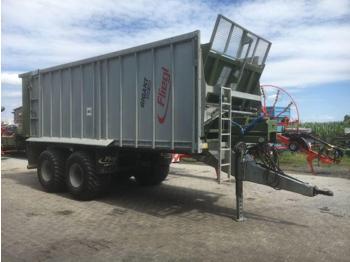 Fliegl ASW 268 - põllutöö tõstuk-järelhaagis/ kallur