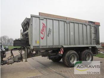 Fliegl Abschiebewagen ASW 268 GIGANT - põllutöö tõstuk-järelhaagis/ kallur
