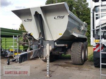 Fliegl Stone Master 252 Erdmulde Halfpipe Vorführmaschine - põllutöö tõstuk-järelhaagis/ kallur