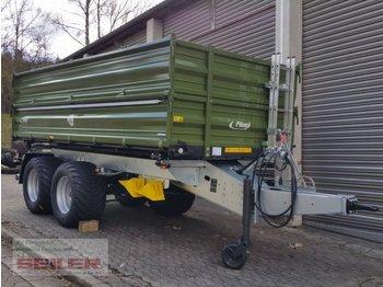 Fliegl TDK 160 FOX - põllutöö tõstuk-järelhaagis/ kallur
