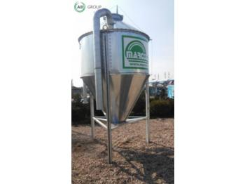 Siloseadmed Marco-Polo MPS-Silo 3 t/ Feed Silos MPS 1.1 3 t / Silos paszowy MPS 1.1 3 t