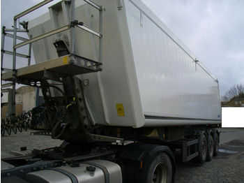 Schmitz Cargobull 44m3 + Plane + Alu+ 1.Hd.+ 6000 KG Leergewicht  - kiper polprikolica