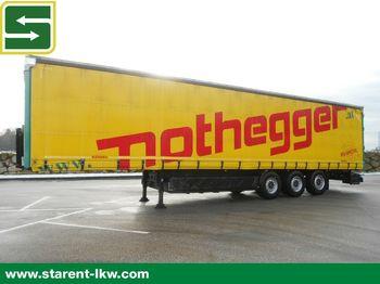 Polprikolica s ponjavo Kögel Tautliner, Lochrahmen, XL-Zertifikat, SAF