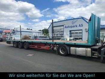 Meusburger MPS-3 Auflieger Tieflader  - низкорамный полуприцеп