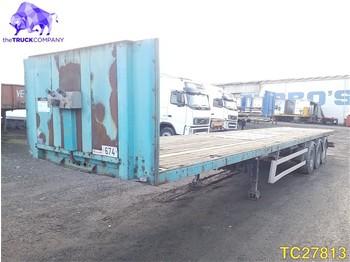 Lecitrailer Flatbed - платформа полуприцеп