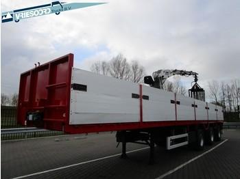 Pacton T3-003 - платформа полуприцеп