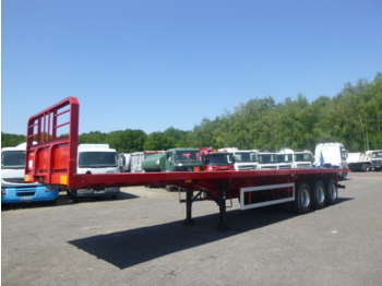 VSM 3-axle platform / container trailer 39 t / 12.3 m / NEW/UNUSED - платформа полуприцеп