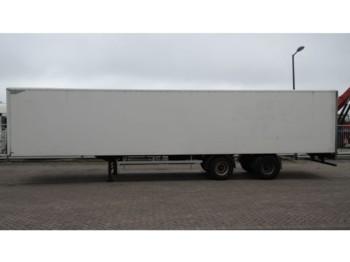 Полуприцеп-фургон HTF 2 AXLE CLOSED BOX TRAILER