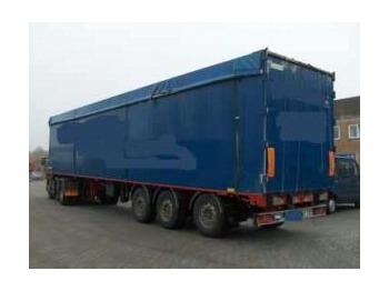 LEGRAS 91 cbm mit lenkachse - полуприцеп-фургон