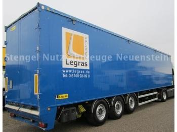 Legras 3-Achs Auflieger Schubboden 93m³Liftachse - полуприцеп-фургон