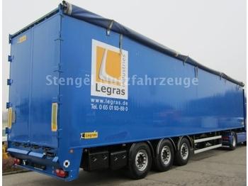 Legras 3-Achs Schubboden 91 cbm / Trennwand - полуприцеп-фургон