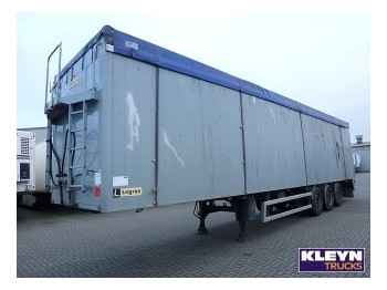 Legras SCHUBBODEN 93 M3 - полуприцеп-фургон
