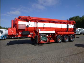 Poluprikolica cisterne AHP Vacuum tank steel (tipping) 29 m3 / 1 comp
