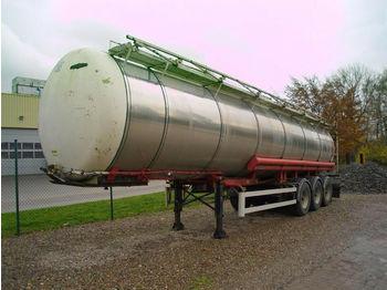 Lag 30000 Ltr. Tank + 1 Kammer + Luftfederung  - poluprikolica cisterne