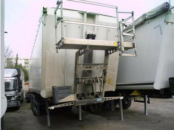 Schmitz Cargobull 52m3 + 6000 kg leer + Kombitür + Alufelgen Lift  - poluprikolica istovarivača