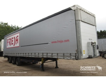 Schmitz Cargobull Curtainsider Mega - poluprikolica s bočnom kliznom ceradom