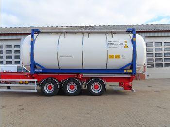 CIMC 20ft - poluprikolica s cisternom