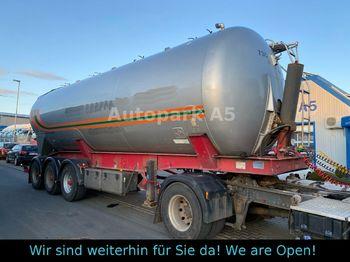 Poluprikolica s cisternom Feldbinder KIP 45.3 45.000 Ltr Silo Lebensmittel