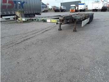 Transporter kontejnera/ poluprikolica s izmjenjivim sanducima Krone Chassis