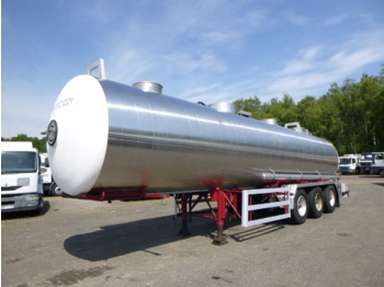 Magyar Chemical tank inox 30 m3 / 1 comp - полуприколка цистерна