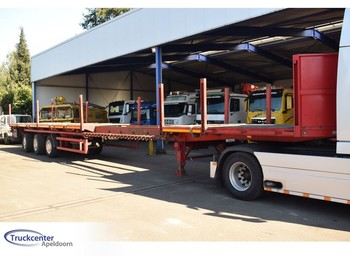 Schmidt CBY 014, Extended, Steering, Truckcenter Apeldoorn - полуприколка со рамна платформа