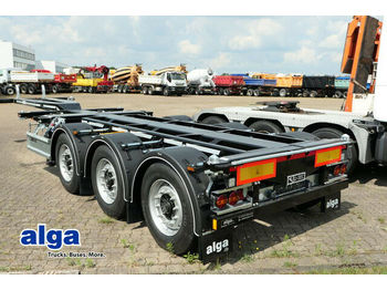 Транспортер на контејнер/ полуприколка со променливо тело D-TEC FT-LS-S, Flexitrailer, Multi, Container Chassis!