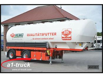 Цистерна полуремарке Heitling - Siloauflieger,7 Kammern,48m³, Futter,: снимка 1