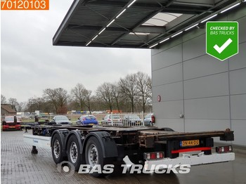 Контейнеровоз/ сменна каросерия полуремарке Krone SD Multi 20-45 Ft. TUV 11-2020 Liftachse
