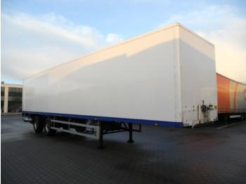 HTF HZCT 32 koffer Lenkachse, LBW - furgoonpoolhaagis