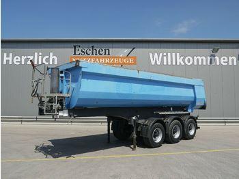 Kallur-poolhaagis Langendorf SKSHS 24/28, 24 m³ Hardox, Luft/Lift, BPW