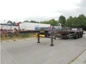 Broshuis 3 UCC DISCBRAKES + GENSET - konteinerveduk/ tõstukiga poolhaagis