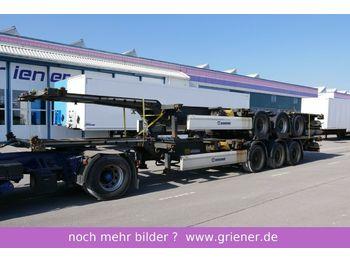 Konteinerveduk/ tõstukiga poolhaagis Krone SDC 27/ TROMMEL / im paket