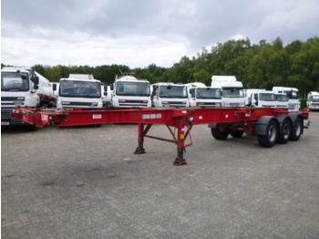 Montracon 3-axle container trailer 20-30-40-45 ft - konteinerveduk/ tõstukiga poolhaagis
