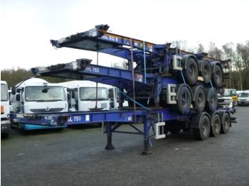 Konteinerveduk/ tõstukiga poolhaagis SDC Stack - 3 x Container trailer 20-30-40-45 ft (sliding)