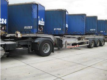 Trouillet 3 ASSER - konteinerveduk/ tõstukiga poolhaagis