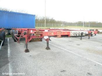 Trouillet CHARIOT MULTIPOSITIO - konteinerveduk/ tõstukiga poolhaagis