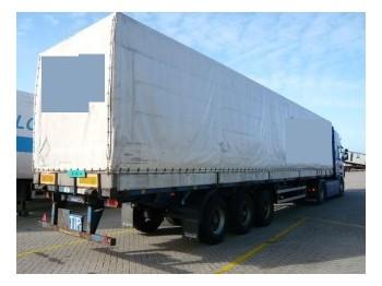 Fruehauf Tilt trailer - külgkardinaga poolhaagis