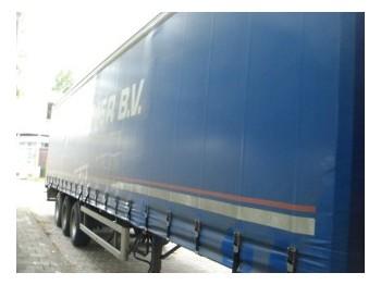 Fruehauf curtainside trailer - külgkardinaga poolhaagis