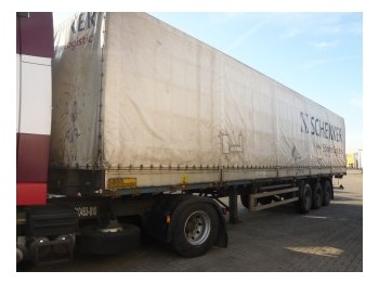 Netam-Freuhauf Tilt trailer - külgkardinaga poolhaagis