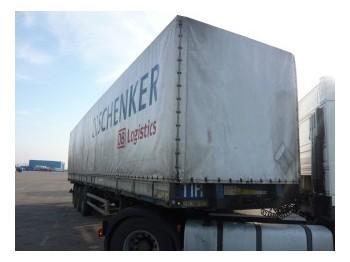 Netam-Fruehauf Tilt trailer - külgkardinaga poolhaagis
