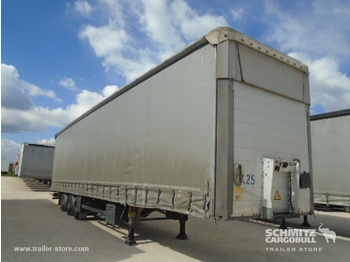 Schmitz Cargobull Curtainsider Mega - külgkardinaga poolhaagis