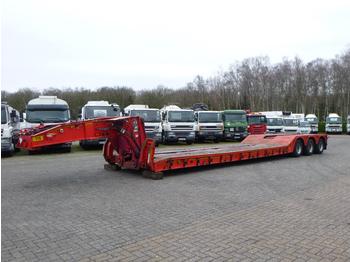 King 3-axle lowbed trailer GTL70 / 7.3 m / 70 t - madal platvormpoolhaagis