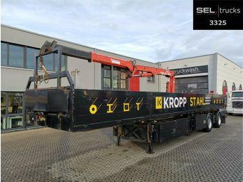 Schmidt Cordes C SAKL 300 / Lenkachse / Ausschub  - madal poolhaagis
