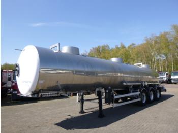 Magyar Chemical ACID tank inox 22.5 m3 / 1 comp - tsistern poolhaagis